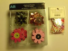 #ScrapbookEmbellishments #WholesaleLot Assorted Paper Craft And Scrapbook Embellishments Wholesale Lot New Unused P-4 #Assorted