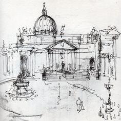 Résultats de recherche d'images pour « sketches of rome »