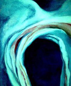 Georgia O'Keeffe, Music: Pink and Blue, No. 1, 1919