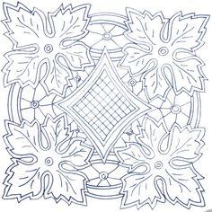 The scheme Openwork Embroidery