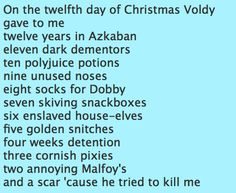 12 days of christmas.