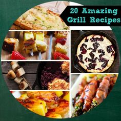 20 Grill Recipes to try