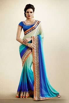 d5024e0b92 Evergreen Sarees India Fashion, Fashion Wear, Designer Sarees Collection,  Latest Designer Sarees,