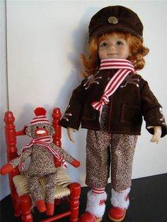 """FITS 13"""" EFFNER LITTLE DARLING, BETSY McCALL, SIMILAR SIZE 'MONKEY'N AROUND"""""""