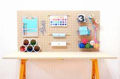 rangement bureau enfant ou atelier