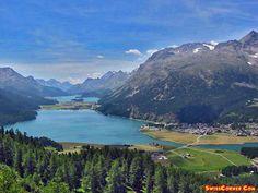 View Canton of Graubünden,  Engadin -  Graubünden -  St.Moritz, Trubsee, Engadin,