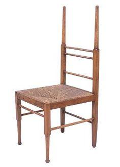 Chair by Edward W. William Godwin, Japanese Taste, Aesthetic Movement, Victorian Art, Arts And Crafts Movement, Gaudi, Sofa Chair, Art Decor, Home Decor