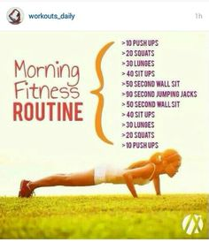 Workouts_daily / morning fitness