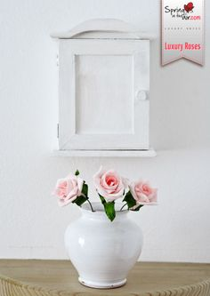 Simple but beautiful. Roses are such a great way to add a touch of colour to your home. http://www.springintheair.com/