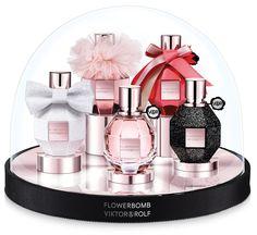 Viktor & Rolf Flowerbomb Snow Globe Collector's Gift Set ~ New Fragrances