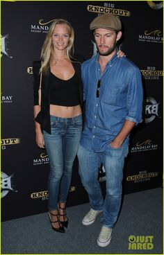 Alex Pettyfer & Girlfriend Marloes Horst Make First Red Carpet Appearance Together! | Adrian Grenier, Alex Pettyfer, Marloes Horst, Taylor Kitsch Photos | Just Jared