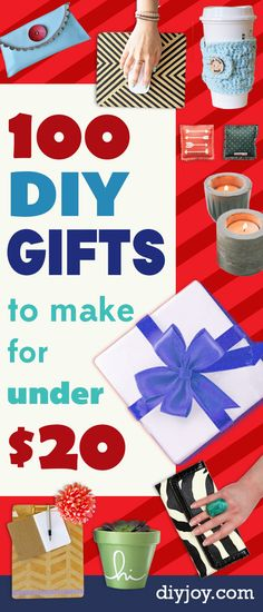 Cheap DIY Gifts - Inexpensive DIY Gift Ideas for Christmas, Birthday, Friends, Family Diy Gift For Bff, Diy Gifts For Girlfriend, Diy Gifts For Friends, Presents For Boyfriend, Gifts For Kids, Friends Mom, Boyfriend Girlfriend, Boyfriend Birthday, Friends Family