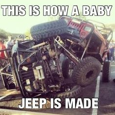 Lol See more about Jeeps, and Lol. Jeep Wrangler Yj, Jeep Xj, Jeep Rubicon, Jeep Wrangler Unlimited, Jeep Truck, Jeep Willys, Jeep Meme, Jeep Humor, Jeep Funny