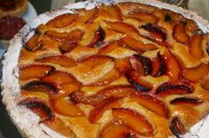 Health Nut Peach Pie...no need for peeling and no flour! Maybe decrease nut flour and make this into a crisp...yummy either way!