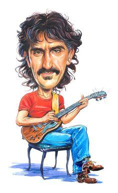 Frank Zappa Painting