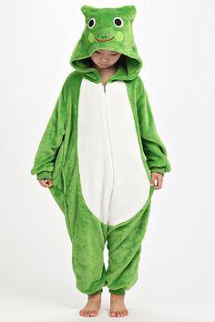 Frog Onesie Onesie for Kids Pajamas