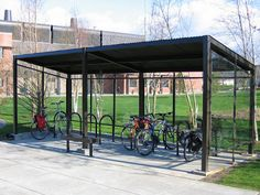 Bellingham Bike Blog: Denise Guren Memorial Bike Shelter
