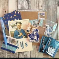 Blue themed mail