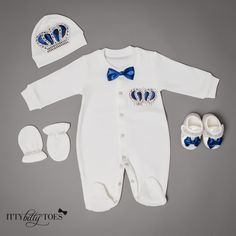Crown Jewels Set (  other colors) - Itty Bitty Toes  - 1