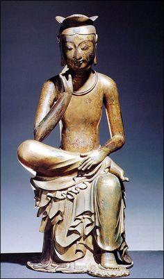maitreya buddha   Buddhist Artwork: Maitreya Buddha (Korean)