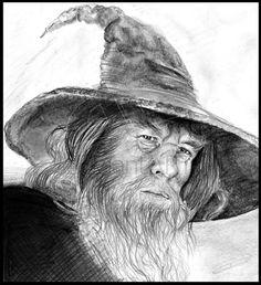 gandalf by last-trace.deviantart.com on @deviantART