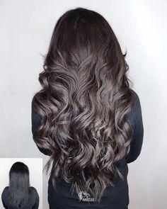 430 отметок «Нравится», 12 комментариев — Beauty Studio MOSCOW-DUBAI (@hairsilk) в Instagram: «Осветление волос из черного в холодный коричневый+наращивание волос (итальянское кератиновое) 225…»