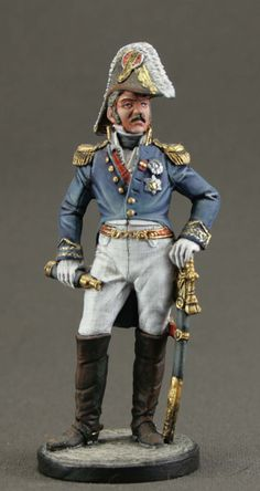 Nap-36-color scale 1//32 Tin Army Officer of the cavalry Leyb-guards Tin Toy Soldiers Metal Sculpture Miniature Figure Collection 54mm