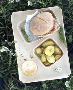 Burger corse au veau pour 4 personnes - Recettes Elle à Table