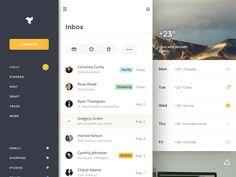 Inbox Dashboard / Creativedash