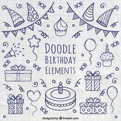 Doodle Birthday Bullet Journal                                                                                                                                                                                 More