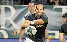 Fourie du Preez to captain Springboks at Rugby World Cup - Times LIVE