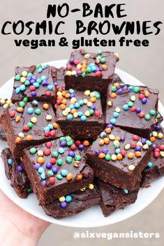 Brownie Recipes, Vegan Dessert Recipes, Gluten Free Desserts, Dairy Free Recipes, Baking Recipes, Delicious Desserts, Yummy Food, Beef Recipes, Tasty