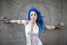Alissa White-Gluz - vegan, animal activist, The Agonist and Arch Enemy lead singer.