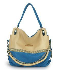 Fashion Rhinestone Mixing Color Optional Strap Handbag