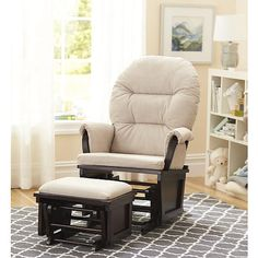 Shermag Aiden Glider and Ottoman Set $99.99 (Black Friday) @ BabiesRUs