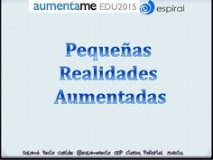 Realidad aumentada en infantil Bullet Journal, Qr Codes, Augmented Reality, Learning