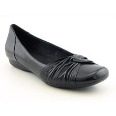 066eb3da1fb62  60.99- 80.00 Clarks Chateau Manor Womens SZ 9 Black Narrow Flats Ballet  Shoes - Add