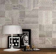 En grå och mönstrad rektangulär kakelplatta med matt yta som passar bra på vägg i både badrum eller kök. Collection är ett premium kakel som noggrant har valts ut av Stonefactory.se. Levereras fraktfritt med hemleverans.