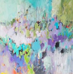 Betty Krause Art, San Francisco Bay Area abstract artist, creates bright, colorful and energetic original pieces on canvas, wood and paper. Original Art, Original Paintings, Abstract Paintings, Oil Paintings, Indian Paintings, Art Haus, Colorful Abstract Art, Selling Art, Art Plastique