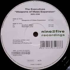 The Executives - Weapons Of Mass Expansion [Nine2five, 2003]