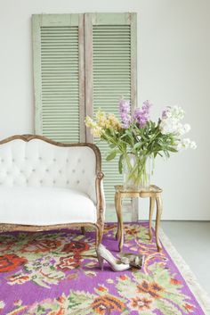 Floral Rug--Gabbagab Bagorg
