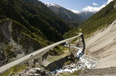 The Otira Viaduct just north of Arthur's Pass is definitely one of our 'Must Drives' this summer!