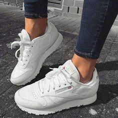 reebok  sneakers  white Rebook Schuhe, Reebok Schuhe Damen, Outfits  Kombinieren, 059e17ade5