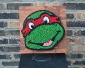 Items similar to Ninja Turtle String Art on Etsy
