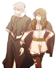 Hetalia_Prussia & Hungary (PruHun if you like, but she might just as well be…