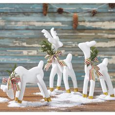 Christmas decorations - how to make Styrofoam reindeer - cute holiday decor ideas - rain deer decorations DIY home made handmade