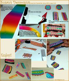 Cool idea...  http://www.photoplus.ws/polymerclay/menu/tutorial/t001.php