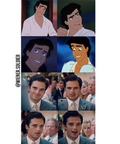 CAN WE HAVE SEB PLAY PRINCE ERIC AND LIZZIE OLSEN TO PLAY ARIEL PLEASE