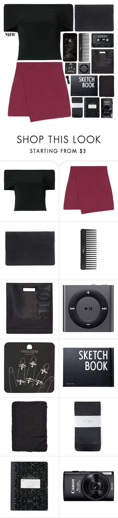 """""""I've got a life to live and no time to play"""" by mint-green-macaroonn ❤ liked on Polyvore featuring T By Alexander Wang, Sephora Collection, 3.1 Phillip Lim, Apple, Topshop, Design Letters, Alicia Adams and Hobbs"""