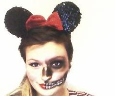 Zombie minni mouse makeup | Halloween | Pinterest | Mice, Costumes ...